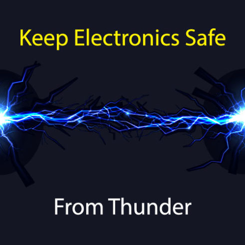 How to Keep Electronics Safe From Thunder 1