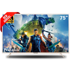 Pentanik 75 Inch Smart Android LED TV 1
